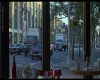 The end of Annie Hall: an empty space where there should be a couple