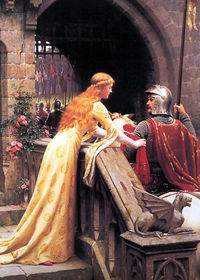 <i>God Speed</i>, Edmund Blair Leighton, 1900