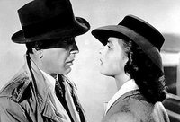 Casablanca: unhappy ending.